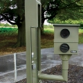 Robot Speed Camera Crown Pole